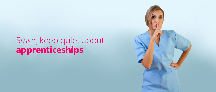 Ssssh, keep quiet about apprenticeships